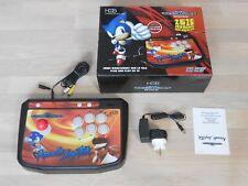 Sega Mega Drive arcade stick h&b sm-2708 26 juegos instalado + tarjetas SD slot