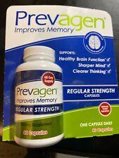Prevagen Regular Strength 60Capsules Improves Memory Fresh Sealed NEWEST product