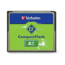 VERBATIM CORPORATION 95188 4GB COMPACT FLASH CF CARD