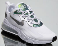 Nike Air Max 270 React Men's White Casual Lifestyle Shoes Athletic Sneakers