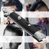 New Automatic Switchblade Spring Pocket Oil Hair Comb Folding Knife Hair Brush