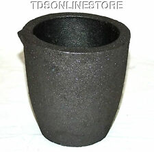 #4 6kg Clay Graphite Crucible Cup For Furnace -Torch Melting New Lower Price