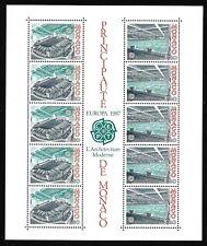 Timbres Monaco Bloc Feuillet 1987 EUROPA N°37 Neuf Sans Charnière