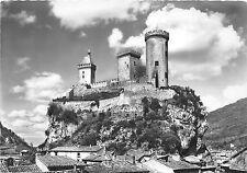 BR19523 Foix le chateau dans un beau ciel de nuages  france