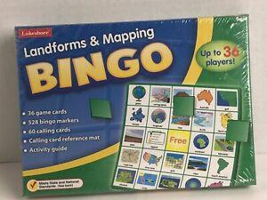 Lakeshore Bingo Landforms & Mapping