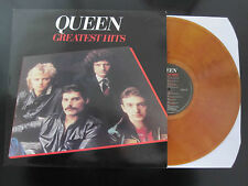 QUEEN  :  GREATEST HITS Whisky Smoke MARBLED Colour HEAVYWEIGHT Vinyl LP SEALED