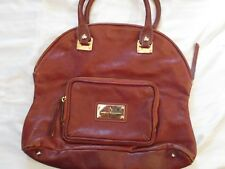 Marco Buggiani Oversized Leather Hand Bag Purse