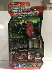 PERCEPTOR Transformers United UN-15 Takara Tomy Unopened/Sealed USA Seller