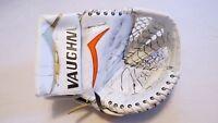 Used John Gibson Anaheim Ducks Vaughn V4 Pro Stock Goalie Catcher! Signed Game