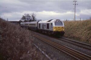 35mm RAILWAY SLIDE: CLASS 67: 67029 ROYAL DIAMOND + COPYRIGHT
