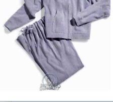 Hammacher Schlemmer Spa Wear Periwinkle Drawstring Sweat Pants ONLY - 3XL 22 W