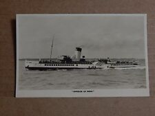Postcard Shipping Paddle steamer Emperor Of India unposted  Unposted