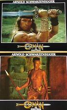 CONAN THE DESTROYER - Lobby Cards Set - Arnold Schwarzenegger, Grace Jones