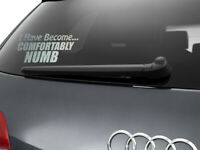 Comfortably Numb Pink Floyd Inspired Sticker Car Decal 205mm x 100mm