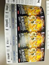 GOLDEN STATE WARRIORS VS CLEVELAND CAVALIERS 2015 NBA FINALS GAME 7 TICKET STUB