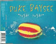 "DUKE BAYSEE - 5"" CD - Sugar Sugar (+ Extended Club Mix) 4 Track. UK Arista"