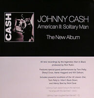 JOHNNY CASH 2000 AMERICAN III SOLITARY MAN PROMO POSTER ORIGINAL