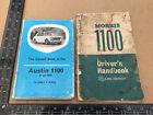 MORRIS 1100 Owners Driver's Handbook Instruction Manual & Austin Book 1960's