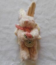 "90/96 Boyds Bearwear Angel Jointed Rabbit 7"" Plush Ornament"
