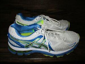 Womens Asics GT-2000 Blue/Neon/White Running Shoes Sz. 8