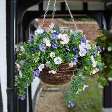 Petunia Artificial 30cm Hanging Basket by Smart Garden