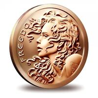 1 oz Copper Round - Freedom Girl