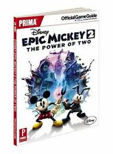 Disney Epic Mickey 2: the Power of Two : Prima Official Game Guide by Mike Searl