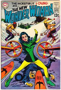 Wonder Woman 181 VF+ (8.5) Downhill Skiing 1969 DC Comics Silver Age Books