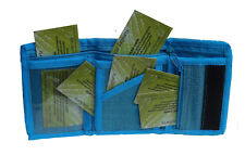 Green Breeze Imports Teal Handmade Abaca Wallet