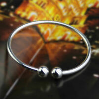 Pulsera brazalete de plata esterlina 925 perfecta para mujer, regalo de joyería