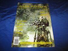 Dark Wisdom #10 Dark Fantasy & Horror Fiction Fanzine Dick Lupoff McBride VF