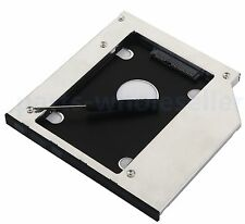SATA 2nd 9.5mm HDD SSD Hard Drive Caddy Adapter for Dell Inspiron 15R 5521 5537