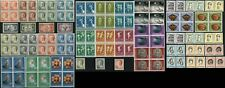 LUXEMBOURG Stamps Pair Block Postage Collection Mint NH OG