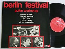 BERLIN FESTIVAL GUITAR WORKSHOP V.A. MPS BASF LP MINT-