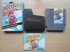 Nintendo NES - Super Mario Bros. 2 - BOXED Game - Manual INCLUDED