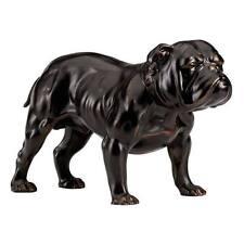 Bronze English Bulldog Statue Desktop Man's Best Friend Dog Gift