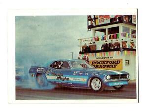 1971 FLEER AHRA TRADING CARD: Candies & Hughes 1970 Barracuda Funny Car