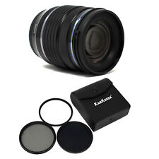 Olympus Zuiko Digitale M. ED 12-45mm f/4.0 NERO + FILTRO PRO KIT UK IL GIORNO SUCCESSIVO Del