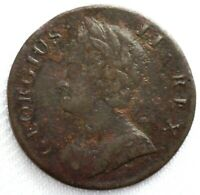 1743 British Colonial 1/2 Penny Great Britain Copper Coin You Grade Clear Date