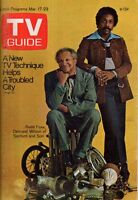 1973 TV Guide March 17-Redd Foxx; Joan Darling; Philco Playhouse; Writers Strike