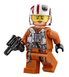 LEGO 75102 Star Wars Poe's X-Wing FIghter - Resistance X-Wing Pilot Minifigure