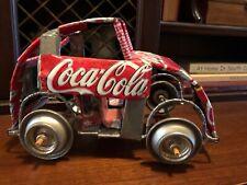 Coca Cola Hand Made Car VW Dunebuggie Collectible