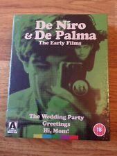 DE NIRO & DE PALMA The Early Films Blu ray LIMITED EDITION Arrow Video