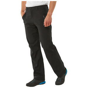 Craghoppers Mens Steall Waterproof Breathable Walking Trousers Lined Hiking Pant