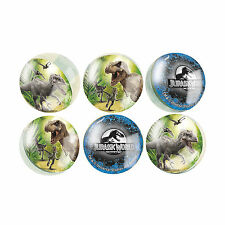 6 Jurassic World Park Dinosaurs Birthday Party Loot Favor Bounce Bouncy Balls