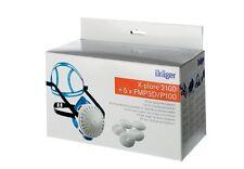 Dräger X-plore 2100 Mezze maschere e cinque Filtri P3 Set Protezione respiro