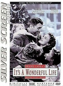 dvd, It's a wonderful life, 1998, James Stewart, Donna Reed, silver screen