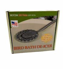 Allied Precision Bdt250 Bird Bath De Icer Multiple Thermostat Aluminum Base 250W