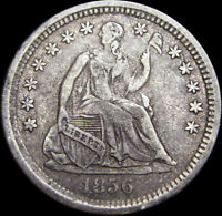 1856 Seated Liberty Half Dime Silver   ----  Type Coin ----  #S583