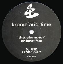 "DJ Krome and Time ""The Slammer"" Vinyl Record Rare 12"" Promo Breaks / Drum & Bass"